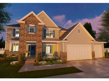 Traditional House Plan, 050H-0113