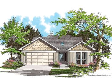 Ranch Home Plan, 034H-0060