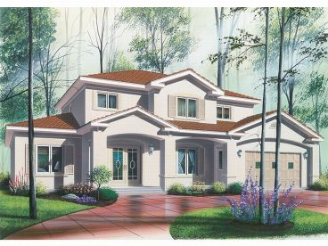 Mediterranean Home Plan, 027H-0136