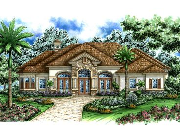 Ranch Home Plan, 037H-0015