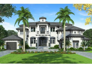 West Indies House Plan, 037H-0244