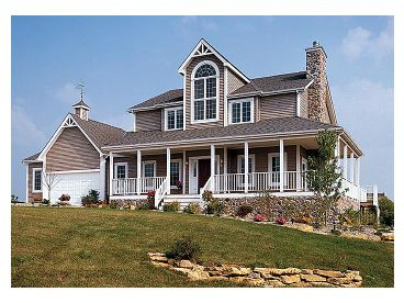 Country House Plan, 047H-0009