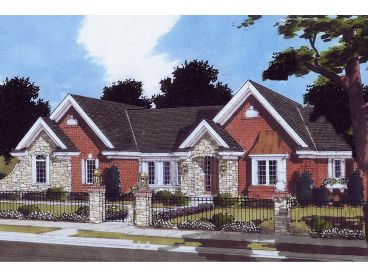 European House Plan, 046H-0084