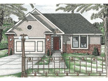 Small Home Plan, 031H-0111