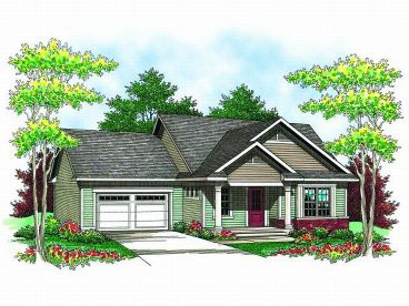 1-Story Home Plan, 020H-0155