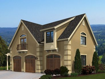 Carriage House Plan, 035G-0016