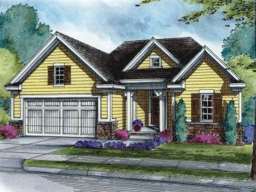 Traditional House Plan, 031H-0348