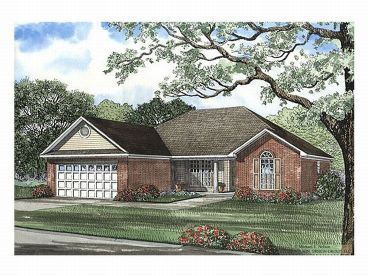 Ranch House Plan, 025H-0004