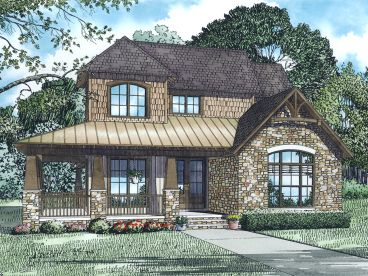 Two-Story House Plan, 025H-0332