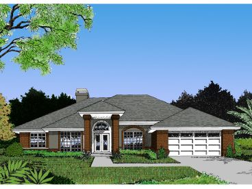 Contemporary House Plan, 043H-0116