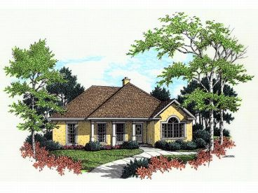 Sunblet House Plan, 021H-0034