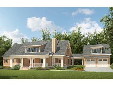 Luxury Two-Story Home Plan, 019H-0185