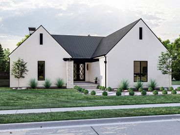 Empty-Nester House Plan, 050H-0391