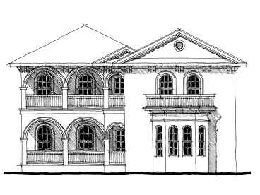 Luxury Home Plan, 052H-0045