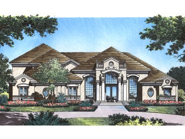 2-Story Luxury House, 043H-0222