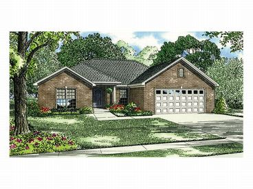 Small Home Plan, 025H-0022