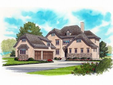 European House Plan, 029H-0086