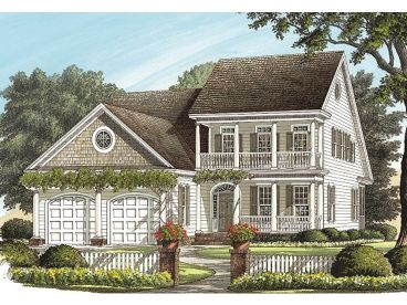 2-Story House Plan, 063H-0054