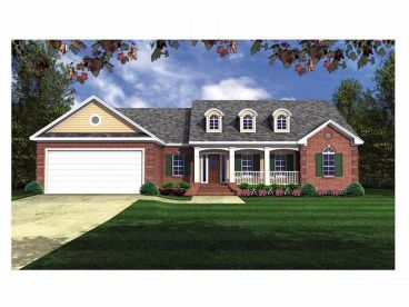 1-Story Home Plan, 001H-0069