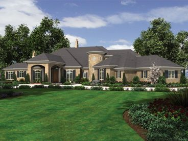 European House Plan, 034H-0365