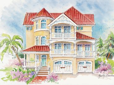 Sunblet Home Plan, 041H-0136