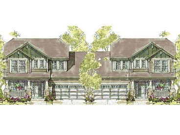 Duplex Home Design, 031M-0062