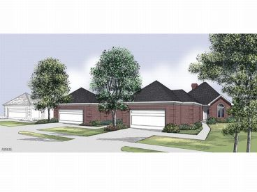 One-Story House Plan, 021H-0100
