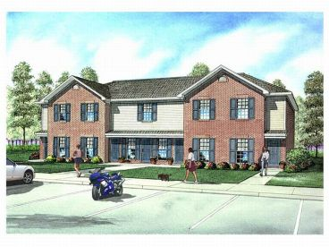 Townhouse Plan, 025M-0070