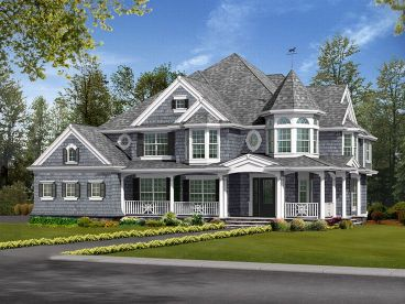 Victorian House Plan, 035H-0028