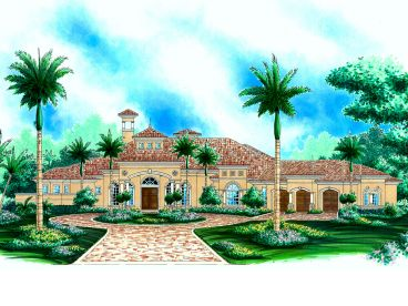 Luxury House Plan, 040H-0021