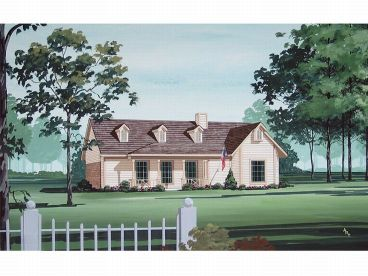 Country House Plan, 021H-0044