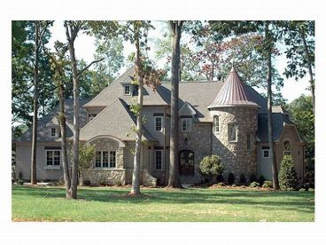 Luxury Home Plan Photo, 029H-0063