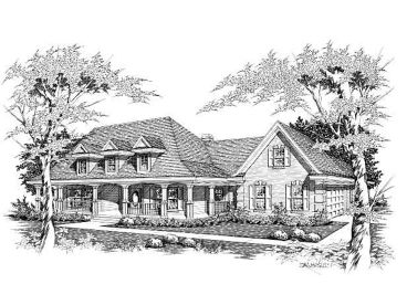 Country Ranch Home, 061H-0071