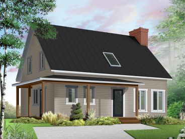 Country House Plan, 027H-0494