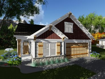 Bungalow Home Plan, 020H-0405