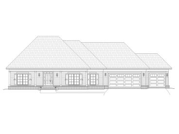 Ranch House Plan, 062H-0046