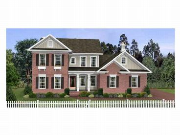 2-Story House Plan, 007H-0051