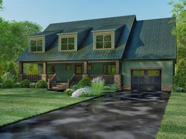 Craftsman House Plan, 074H-0088