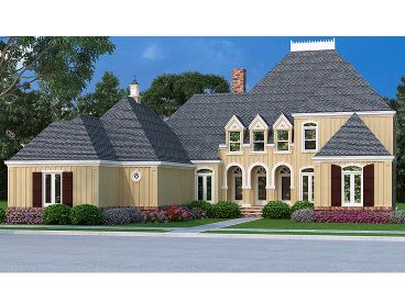 European House Plan, 021H-0245
