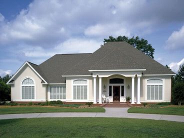 Mediterranean House Plans by Alan Mascord Design Associates, Inc.