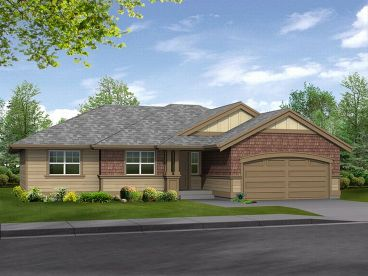 Ranch Home Plan, 035H-0042