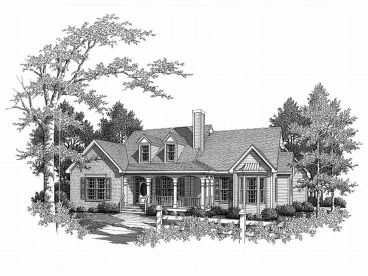 Ranch House Design, 019H-0097