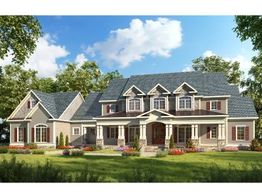 Country House Plan, 019H-0169