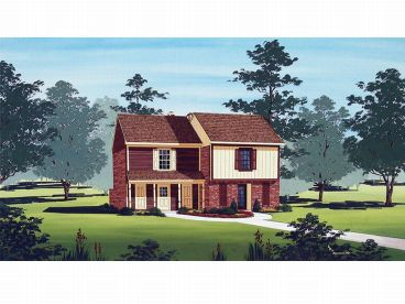 Duplex House Plan, 021M-0009