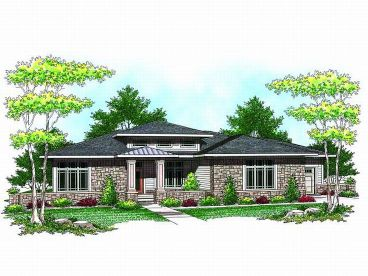 Contemporary Home Plan, 020H-0181