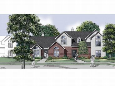 Multi-Family House Plan, 021M-0016