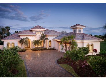 Mediterranean House Plans | Premier Luxury Mediterranean Home Plan ...