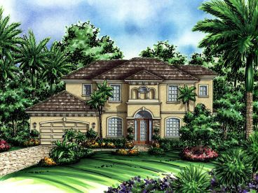 Two-Story Home Plan, 040H-0055