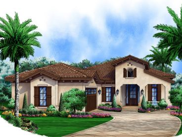Sunbelt House Plan, 037H-0200