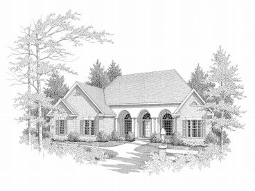 European Home Plan, 019H-0052
